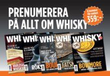 Prenumerera på Allt om Whisky