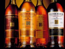 Glenmorangie Sherry cask, Sauternes cask och Port cask.