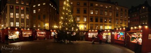 Gästabud med julmarknad i Nacka Strand