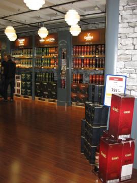 Whiskyhjørne i Bordershoppen - opsætning 041