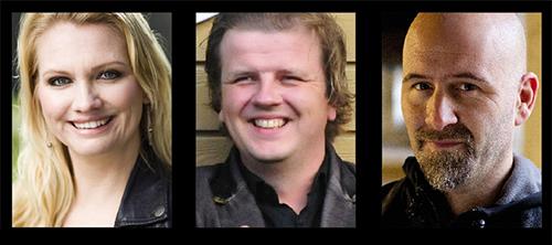 Panelen: Emma Andersson, David Mortimer-Hawkins och Håkan Dahlberg