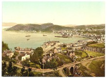 Argyllshire, Oban, General View
