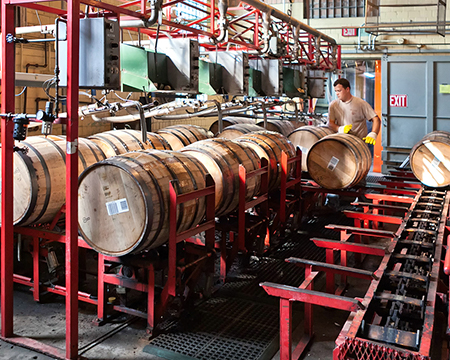 Barrels being filled by Tim Hudnall_450