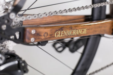 Närbild Glenmorangie Distillery Bike