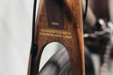 Detalj från Glenmorangie Distillery Bike