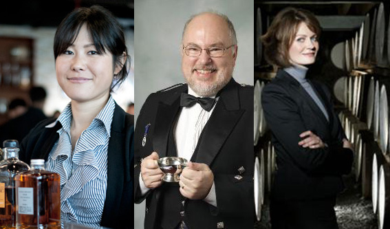 Sayumi Oyama från Nikka, Anders Gjörling, Stephanie MacLeod.