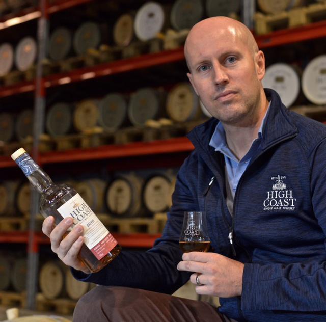 Henrik Persson, High Coast distillery