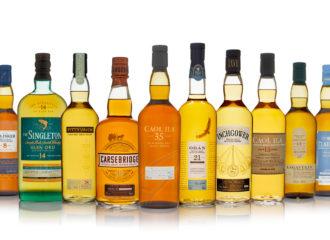 DIaegos skotska whisky lline-up hösten 2018