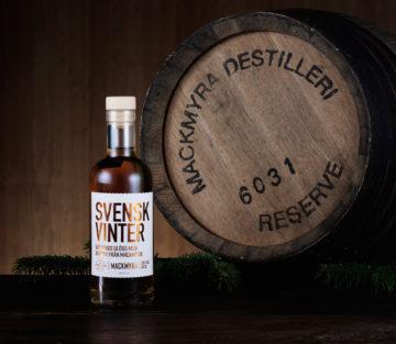 Saturnus Svensk Vinter glögg med smak av Mackmyra whisky