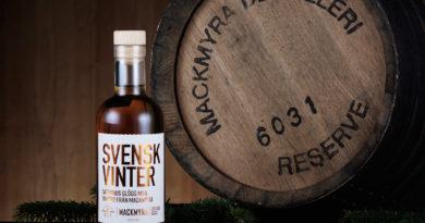 Mackmyras glödande vinterwhisky med smak av glögg