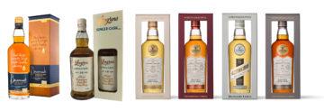 Sex skotska whiskies från Gordon & MacPhail