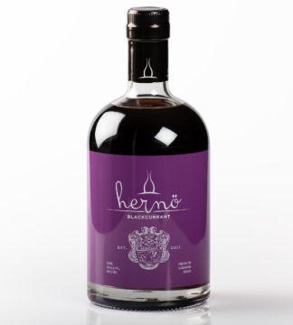 Flaska med Hernö Black currant