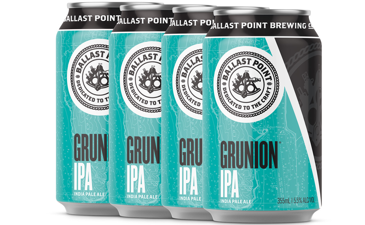 Ballast Points Grunion på burk