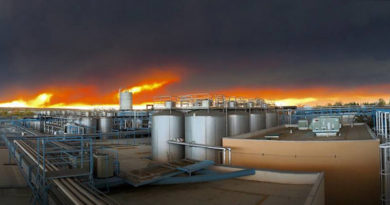 Bryggeriet Sierra Nevada stängt p.g.a. skogsbranden