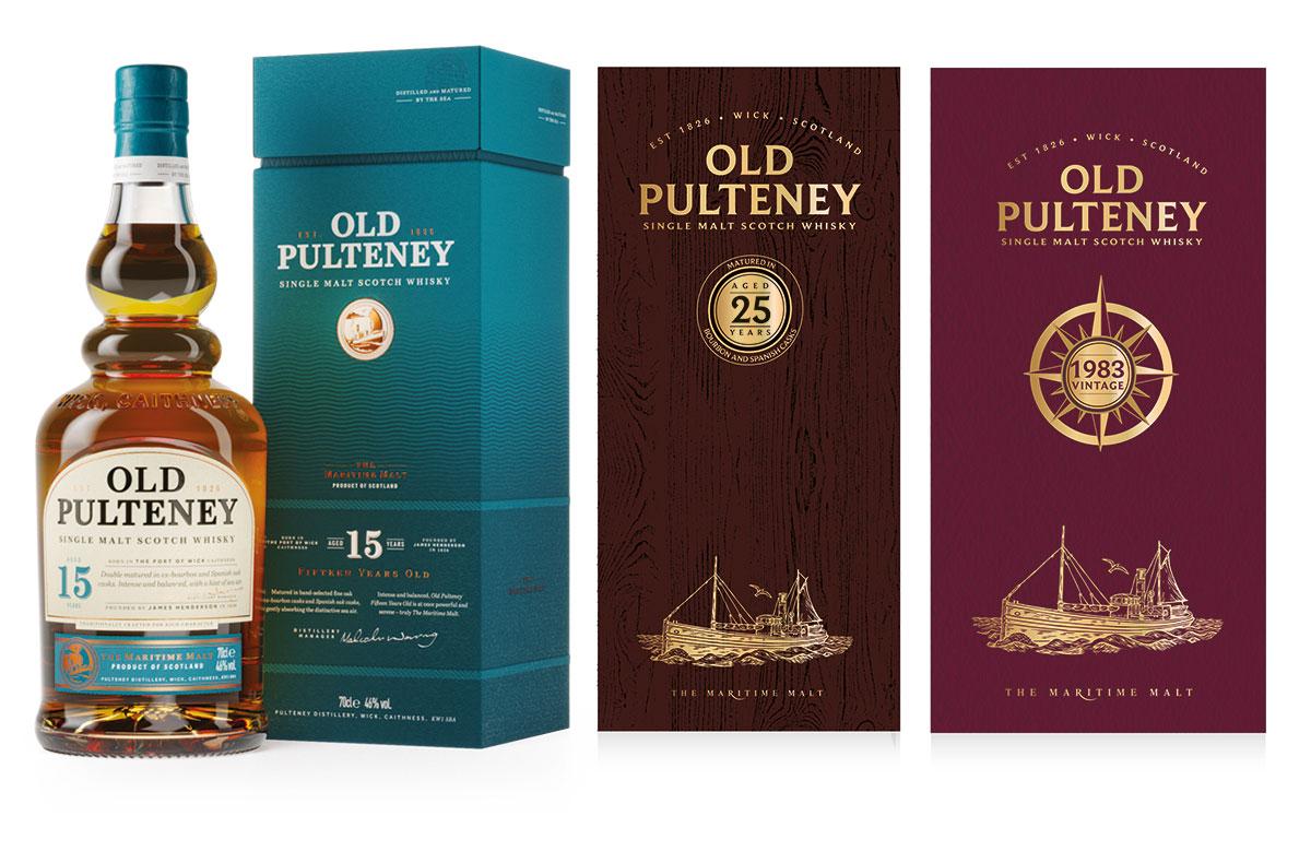 Old Pulteneys nya trio