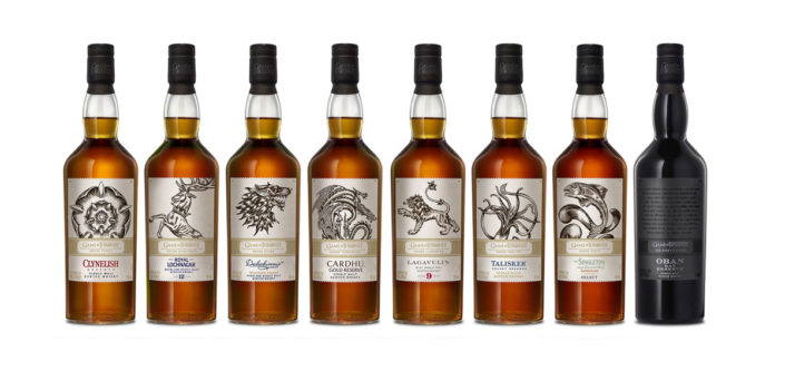 Game of Thrones Whiskyflaskor