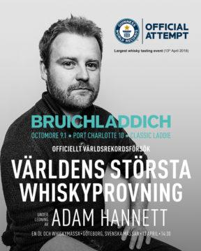 Adam Hannett, master distiller, Bruichladdich