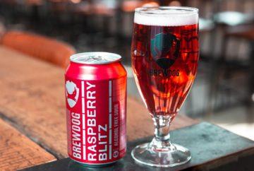BrewDog Raspberry Blitz Alcohol Free Sour