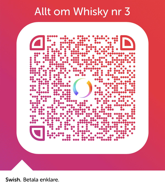 Allt om Whisky nr 3Swish-QR