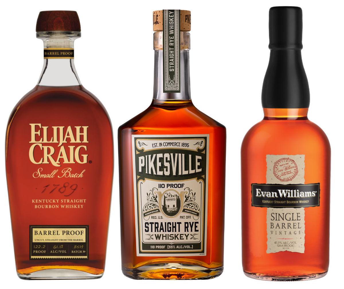 Bourbon – Hattrick från Heaven Hill