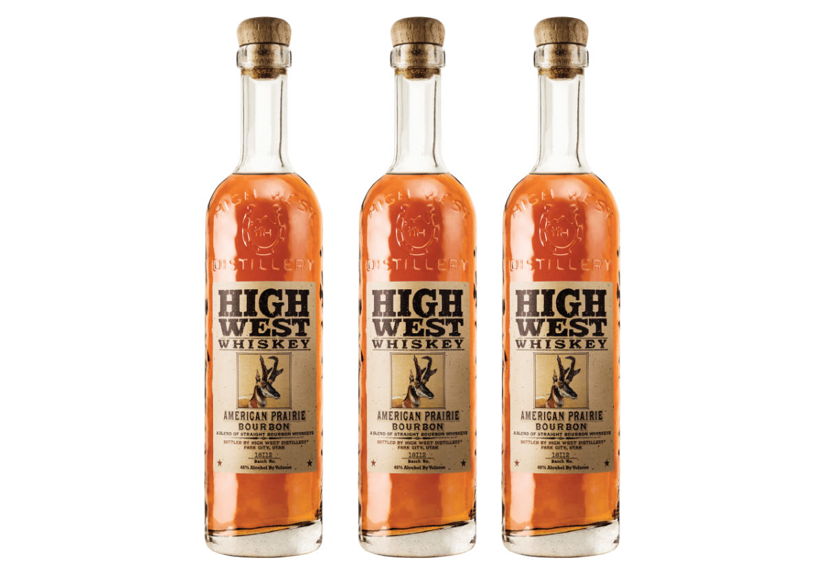 Amerikansk prärie-bourbon på beställningssortimentet