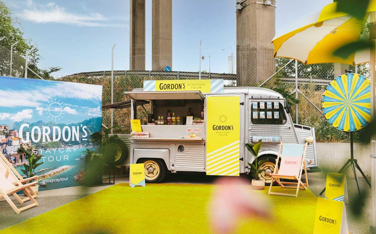 Följ Gordon's gin-truck i sommar